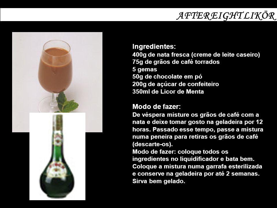 LICOR CASEIRODE AMEIXAS VERMELHAS Ingredientes: 1 garrafa de conhaque 250g de açúcar cristal escuro (do mais simples) 250g de ameixas vermelhas frescas.
