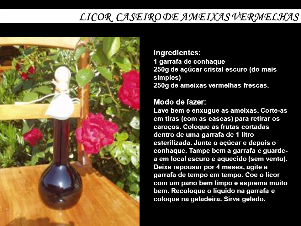 LICOR CASEIRO DE LIMÃO TIPO LIMONCELLO Ingredientes: 10 limões grandes 1 litro de álcool (90%) 1 litro de água 700g de açúcar cristal branco Modo de fazer: Lave bem e enxugue os limões.