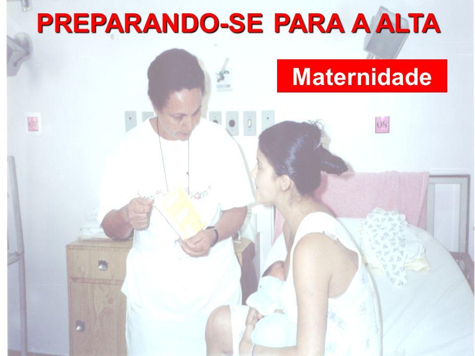 PREPARANDO-SE PARA A ALTA Maternidade
