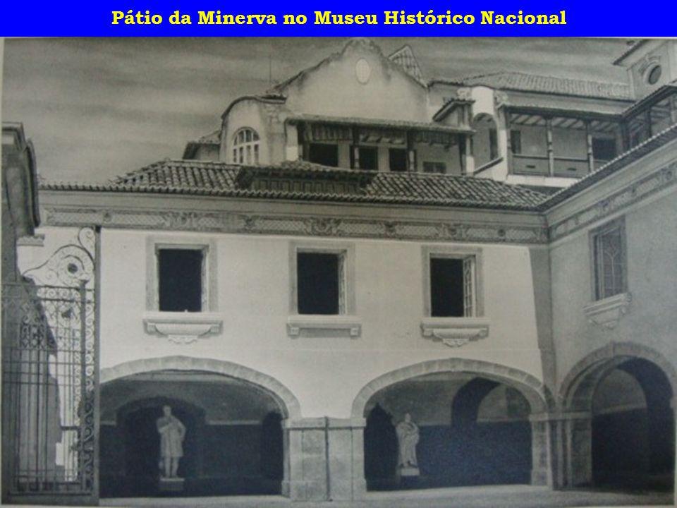 Pátio da Minerva no Museu Histórico Nacional