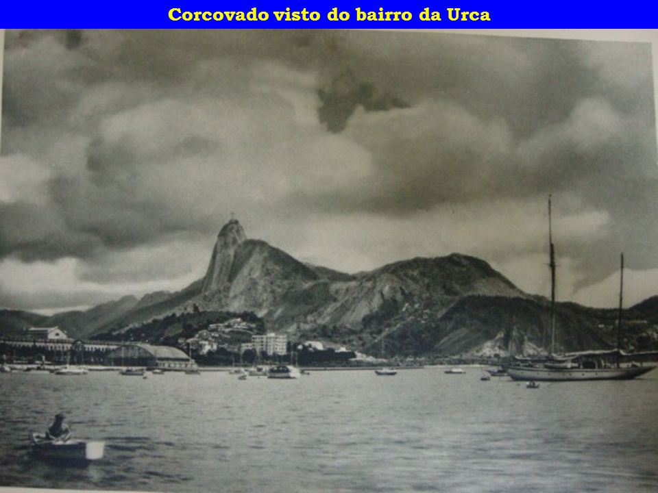 Corcovado visto do bairro da Urca