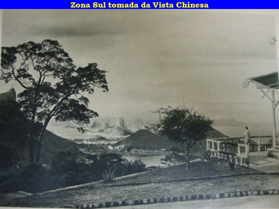 Zona Sul tomada da Vista Chinesa