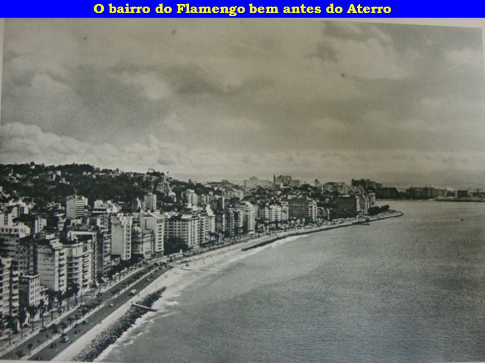 Enseada de Botafogo vista do morro da Viúva