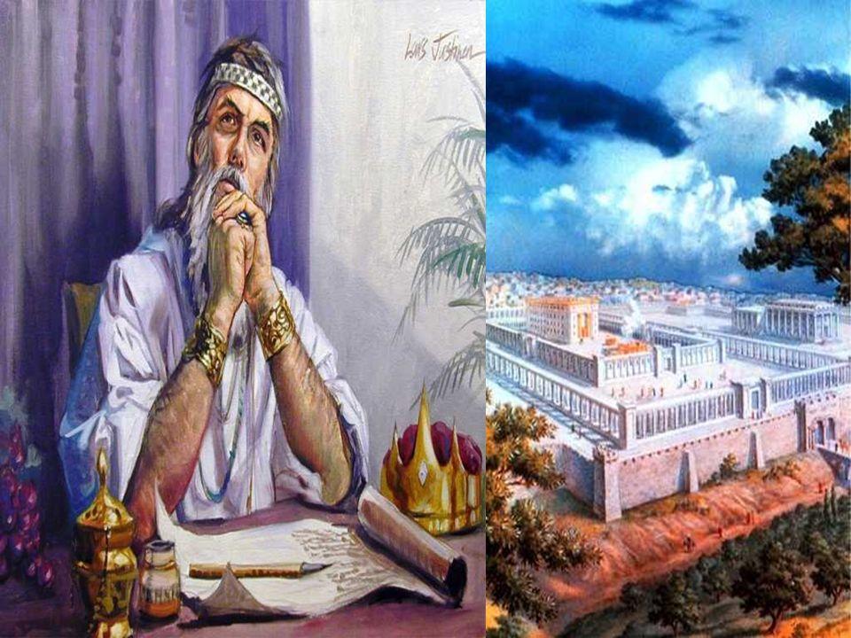 Na 1ª Leitura, Davi prepara uma MORADA para Deus.