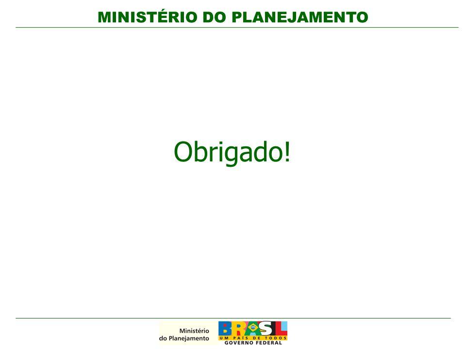 MINISTÉRIO DO PLANEJAMENTO 34 / 42 Obrigado!