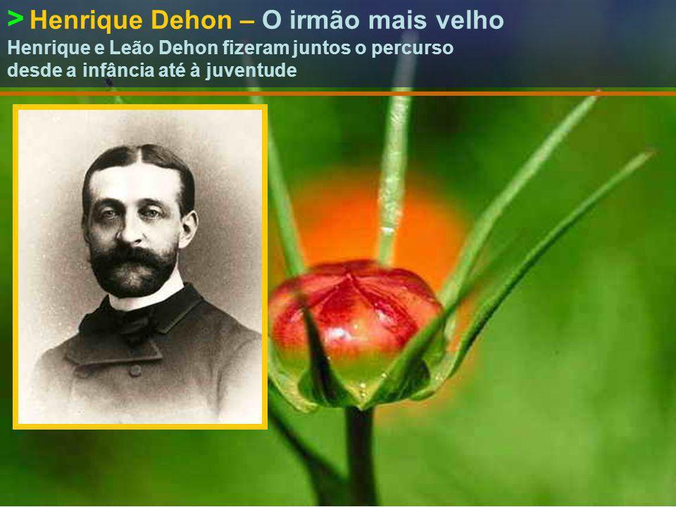 > 24|março|1843 – Baptismo Nome: Leão Gustavo Dehon.