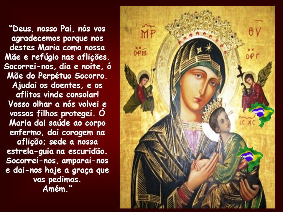Lembrai-vos, ó puríssima Virgem Maria, que nunca se ouviu dizer que algum daqueles que tem recorrido a vossa proteção, implorado o vosso auxílio e rec