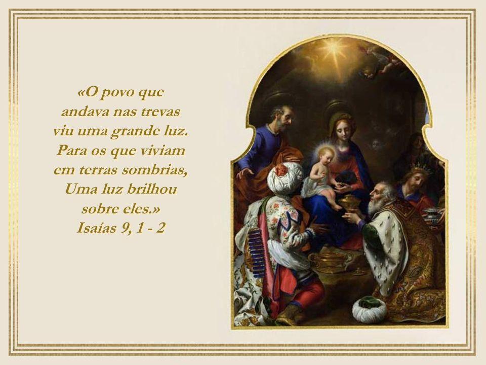 Ó Sol nascente justiceiro, resplendor da Luz eterna: Oh, vinde e iluminai os que jazem entre as trevas e, na sombra do pecado e da morte estão sentado