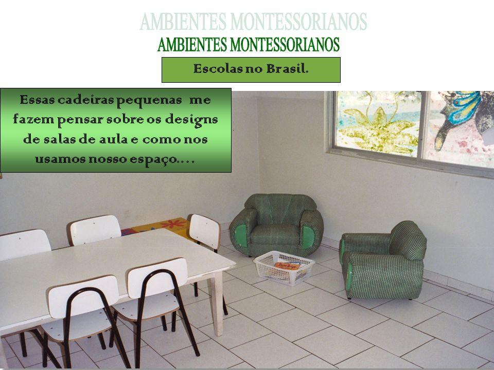 Essas cadeiras pequenas me fazem pensar sobre os designs de salas de aula e como nos usamos nosso espaço.…