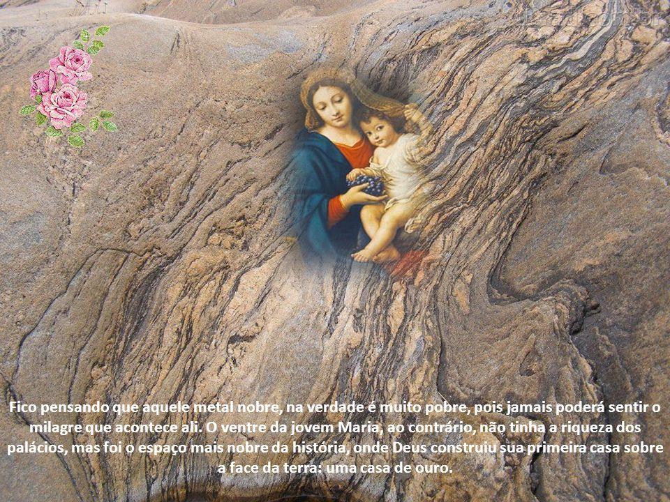 Esta invocação da ladainha não é difícil de assimilar. Sabemos que Maria foi a casa escolhida por Deus para que o seu Verbo se fizesse carne e habitas