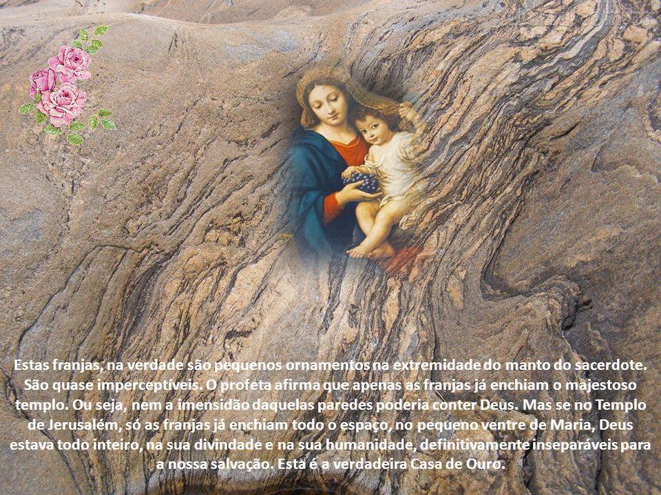 A glória de Deus enchia o templo (cf. 2Cr 5,14). Mas quem lê atentamente o Antigo Testamento percebe que Deus não estava muito à vontade no meio de to