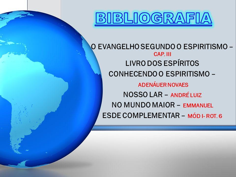 O EVANGELHO SEGUNDO O ESPIRITISMO – CAP.