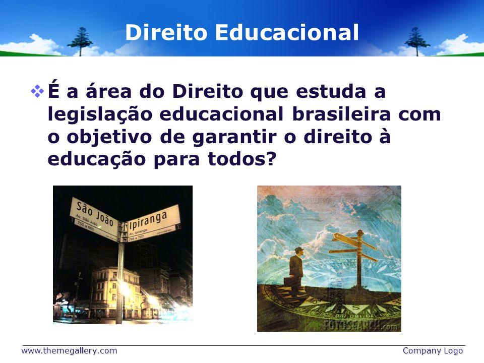 Direito Educacional É a área do Direito que estuda a legislação educacional brasileira com o objetivo de garantir o direito à educação para todos? www
