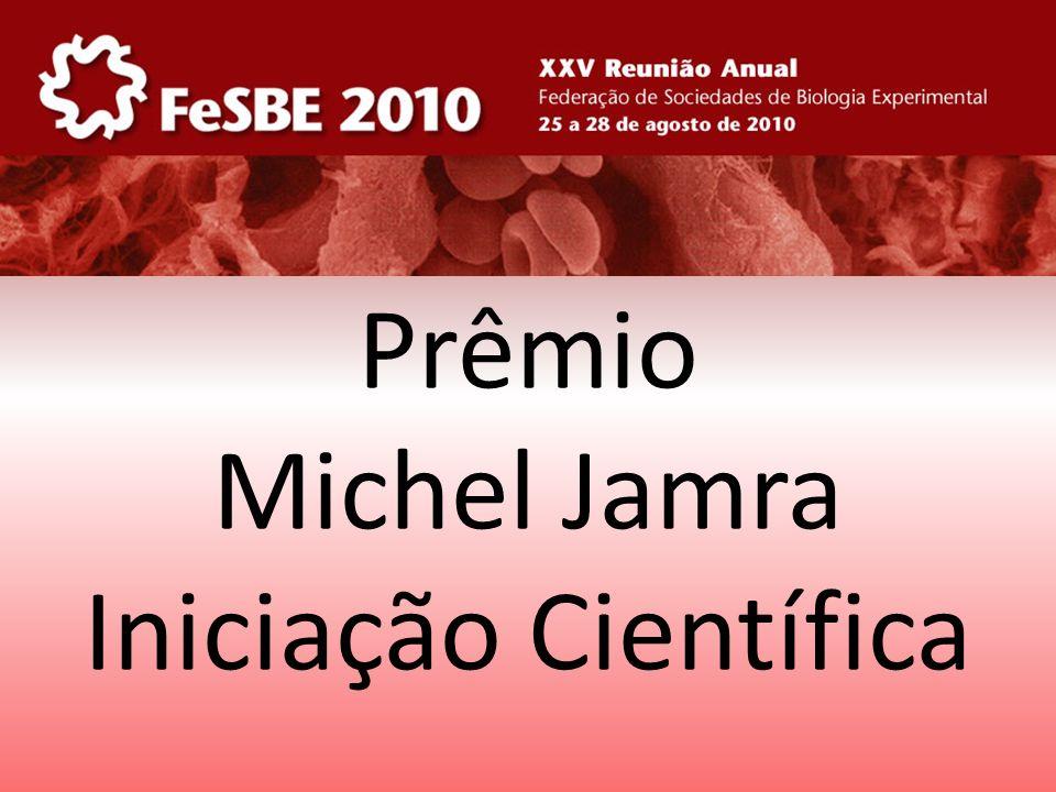 Prêmio Michel Jamra Iniciação Científica