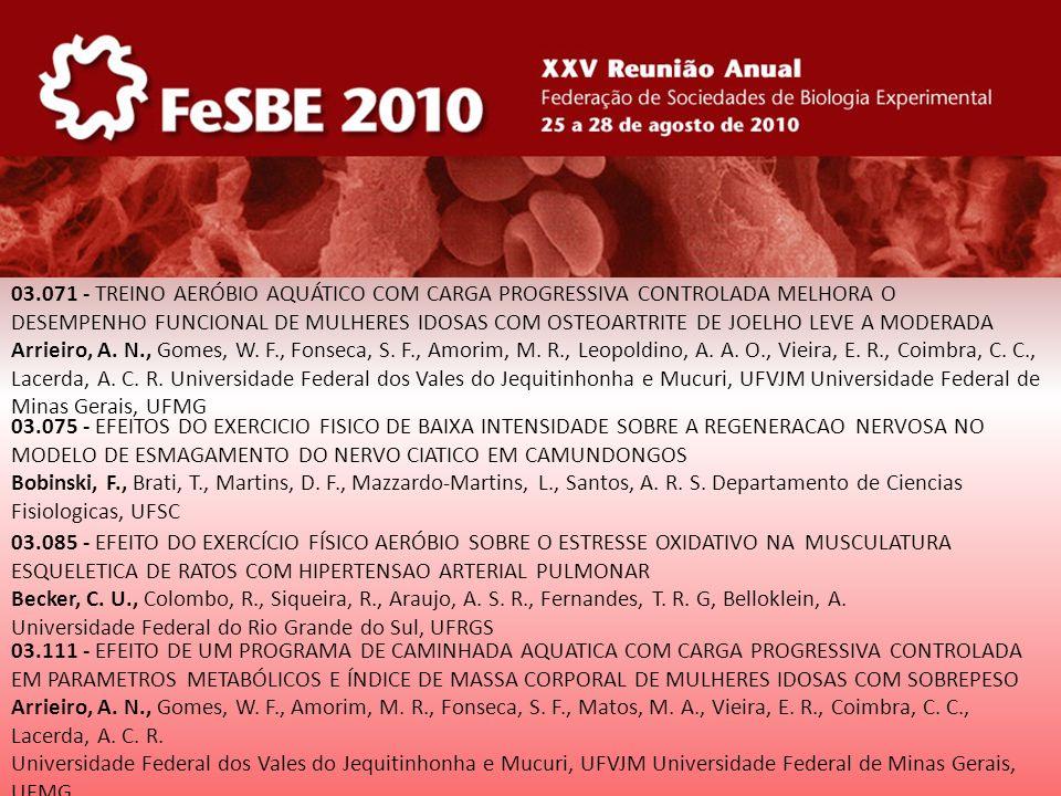 34.067 - EFEITOS NEUROCOMPORTAMENTAIS DO DANTROLENE EM RATOS Feitosa, E.