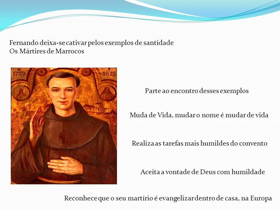 Como é que Santo António influencia a minha vida de Acólito A sua vida como é exemplo para a minha vida.