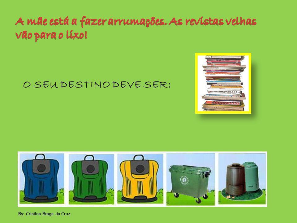 O SEU DESTINO DEVE SER: By: Cristina Braga da Cruz