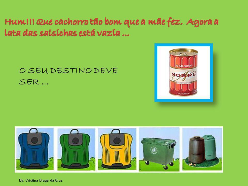 O SEU DESTINO DEVE SER … By: Cristina Braga da Cruz