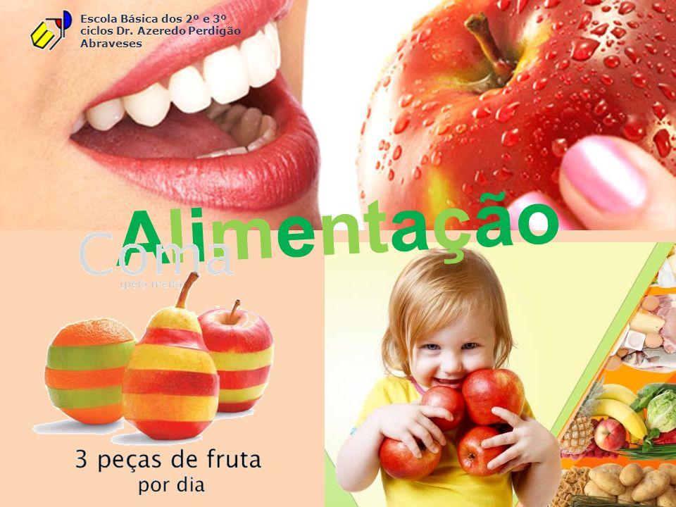 Escola Básica dos 2º e 3º ciclos Dr. Azeredo Perdigão Abraveses Alimentação