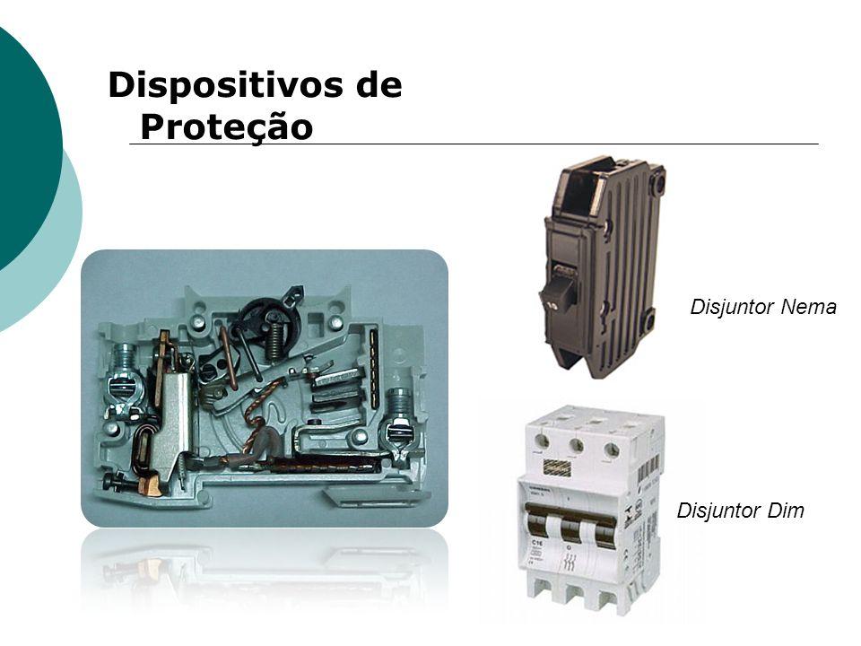 Dispositivos de Proteção Disjuntor Nema Disjuntor Dim
