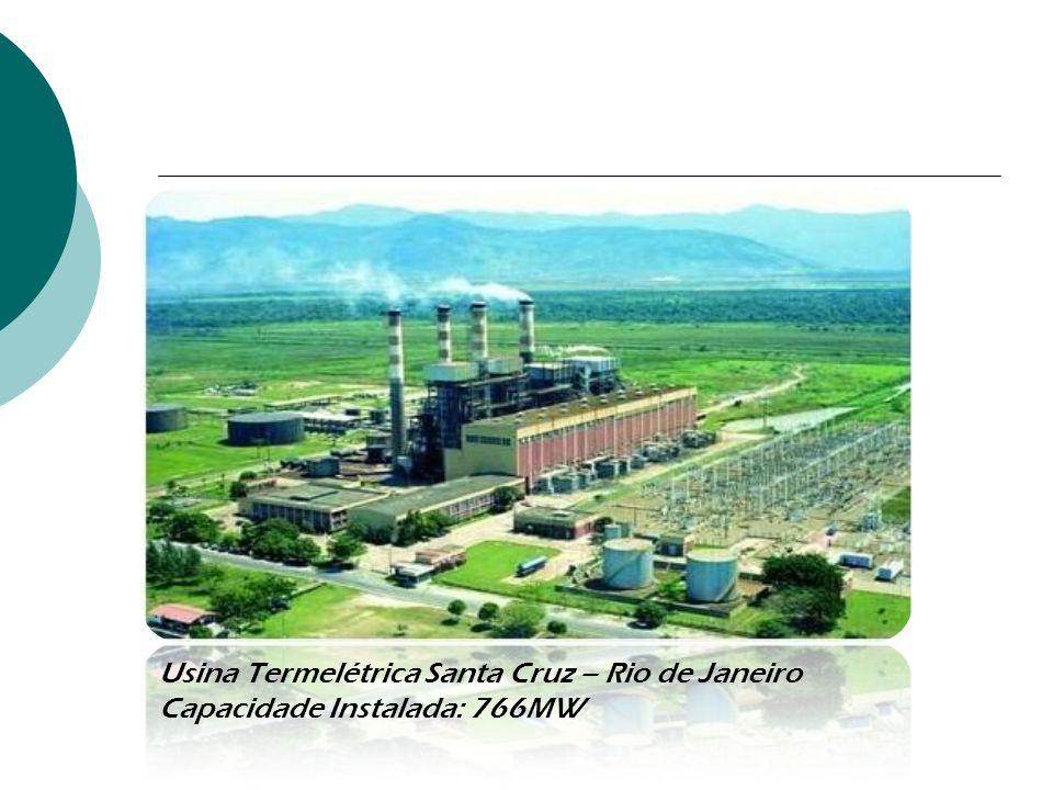 Usina Termelétrica Santa Cruz – Rio de Janeiro Capacidade Instalada: 766MW