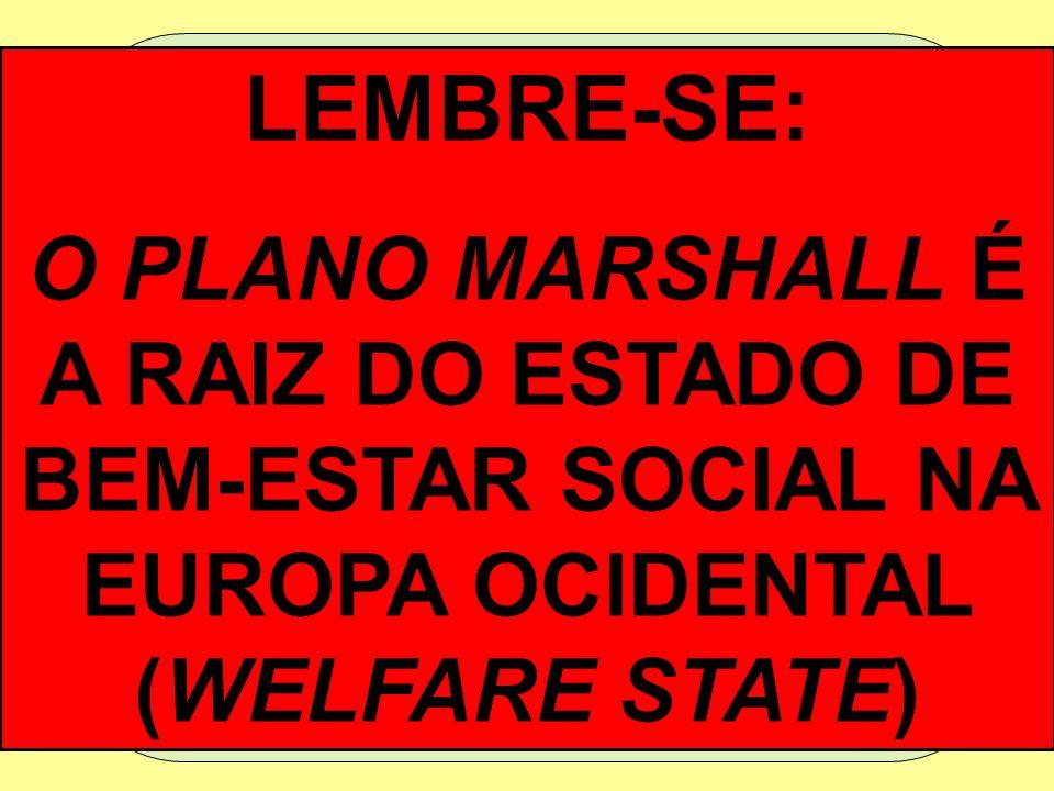 Discurso de colação de grau do secretário de Estado americano George C. Marshall, em 1947, propondo um programa de reabilitação européia após a Segund