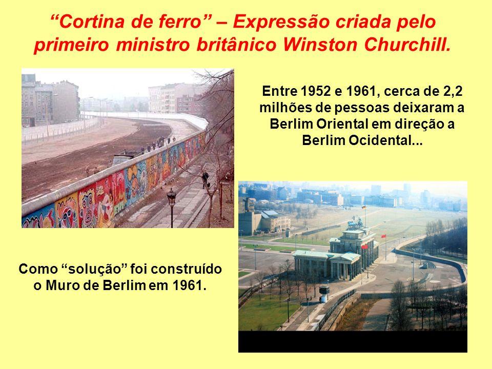 A COEXISTÊNCIA PACÍFICA OU DISTENSÃO OU DÉTENTE (décadas de 50-60) Estratégia da coexistência pacífica (formalizada pelo líder soviético Nikita Krusch