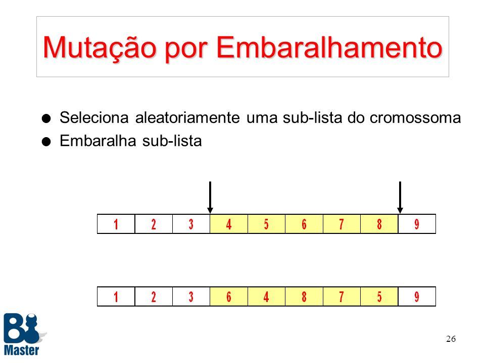 25 Exemplo P1P2P1P2 Padrão F1F2F1F2 F1F2F1F2 Elementos de P 1 associados a 0: 1, 4, 7, 8.Ordenados segundo P 2 : 8, 4, 7, 1 Elementos de P 2 associado