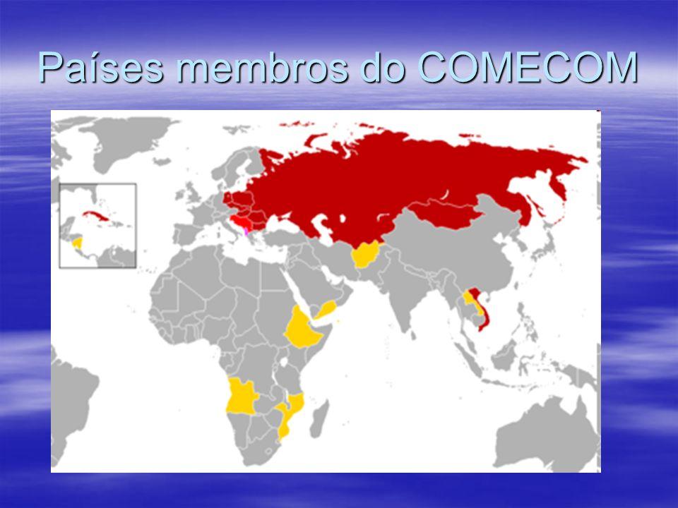 Países membros do COMECOM