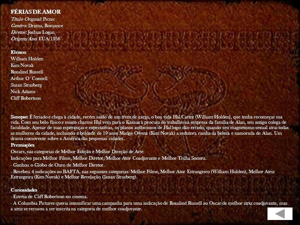 OS BRUTOS TAMBÉM AMAM Ficha Técnica Título Original: Shane Gênero: Faroeste Tempo de Duração: 118 minutos Ano de Lançamento (EUA): 1953 Estúdio: Param