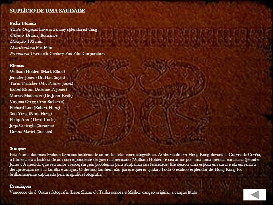 FÉRIAS DE AMOR Título Original: Picnic Genêro: Drama, Romance Diretor: Joshua Logan Origem/Ano: EUA/1956 Elenco: William Holden Kim Novak Rosalind Rus