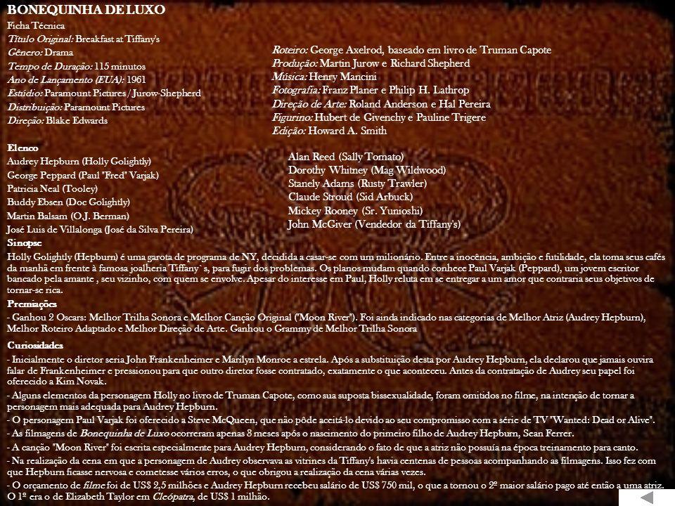 CONFIDÊNCIAS À MEIA NOITE Ficha Técnica Título Original: Pillow Talk Gênero: Comédia Tempo de Duração: 105 minutos Ano de Lançamento (EUA): 1959 Estúd
