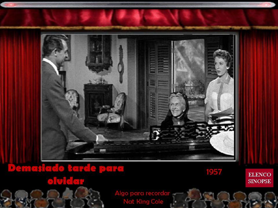 1956 El hombre que sabía demás Que sera, sera Doris Day Que sera, sera Doris Day ELENCO SINOPSE