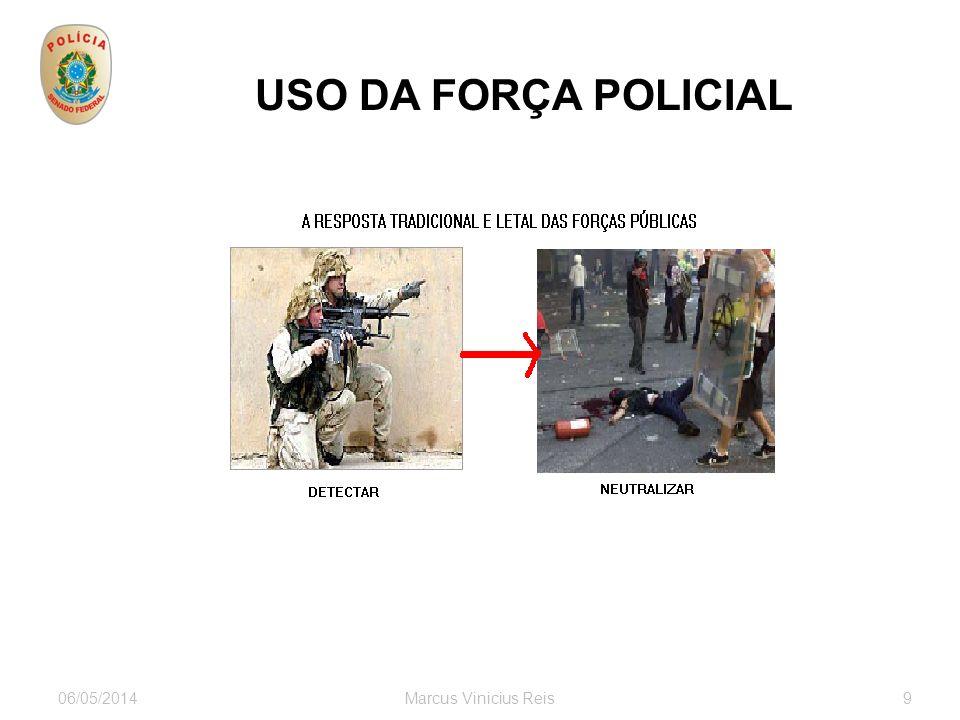 06/05/2014Marcus Vinicius Reis9 USO DA FORÇA POLICIAL