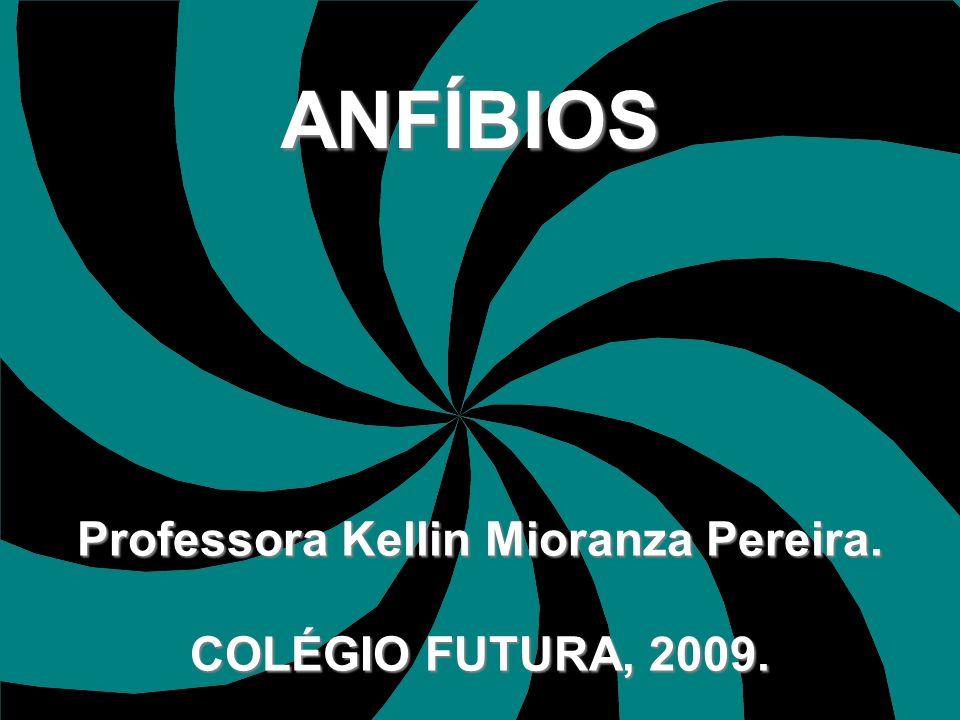 ANFÍBIOS Professora Kellin Mioranza Pereira. COLÉGIO FUTURA, 2009.