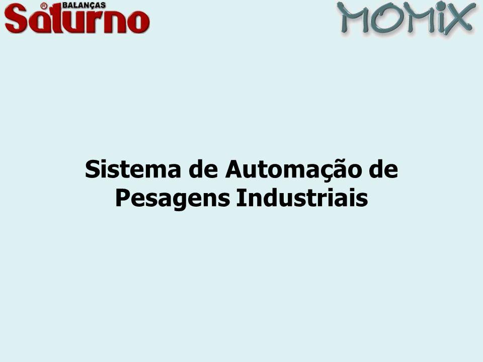 Sistema de Automação de Pesagens Industriais