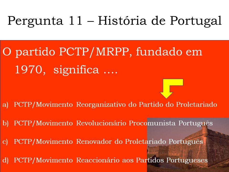 Qual é a principal resposta social para idosos em Portugal? a) Lares b) SAD c) Centro de Dia d) Bancos do jardim Pergunta 10 - Gerontologia
