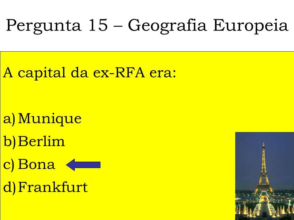 Pergunta 14 - Língua Portuguesa Qual é a forma correcta de conjugar o verbo Abanar, no Gerúndio? a)Abanarei b)Abanado c)Abanando d)Abanarem