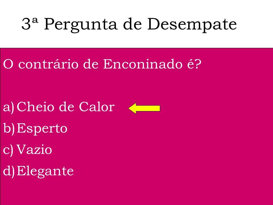 2ª Pergunta de Desempate Que pintora portuguesa fez o retrato oficial de Jorge Sampaio? a)Graça Morais b)Paula Rego c)Vieira da Silva d)Guilhermina Su