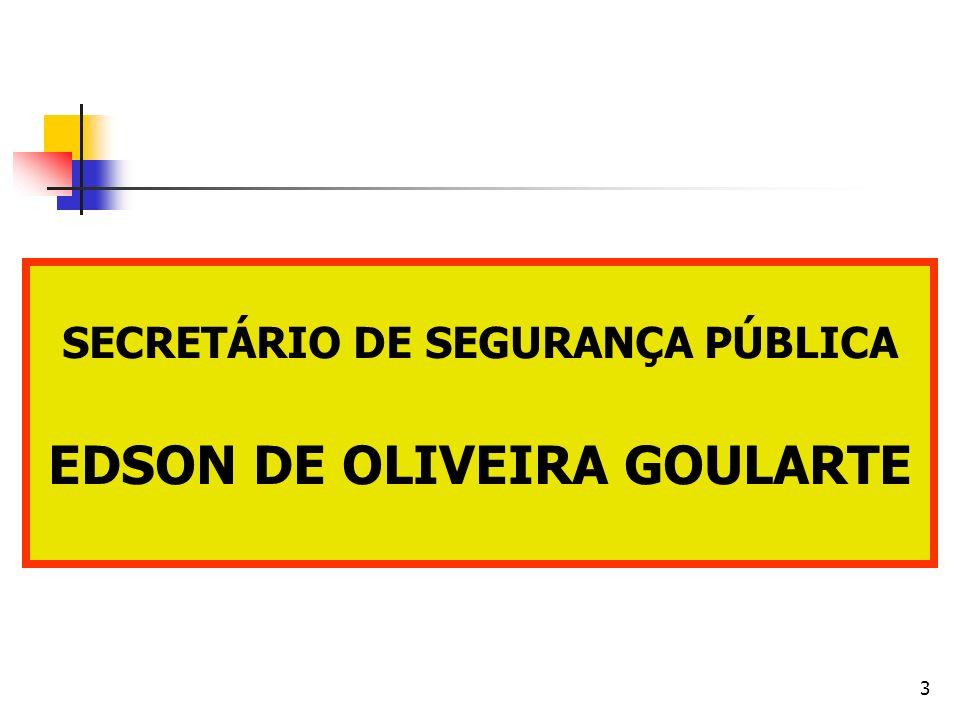 3 SECRETÁRIO DE SEGURANÇA PÚBLICA EDSON DE OLIVEIRA GOULARTE