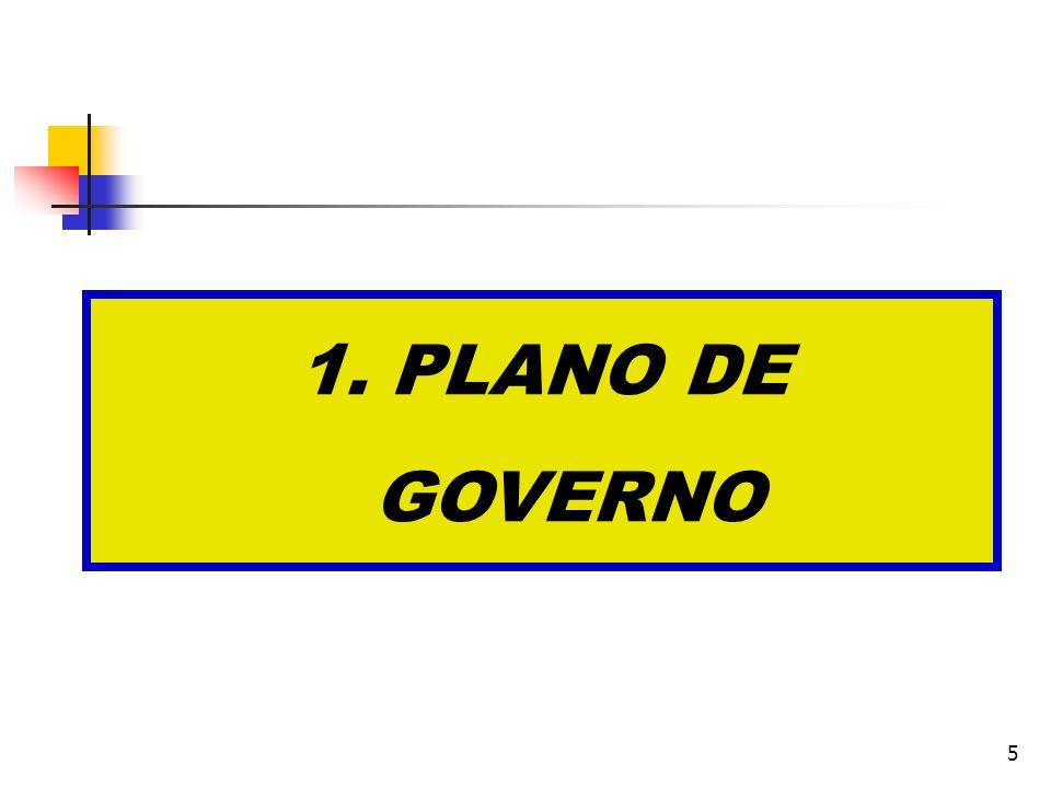 5 1. PLANO DE GOVERNO
