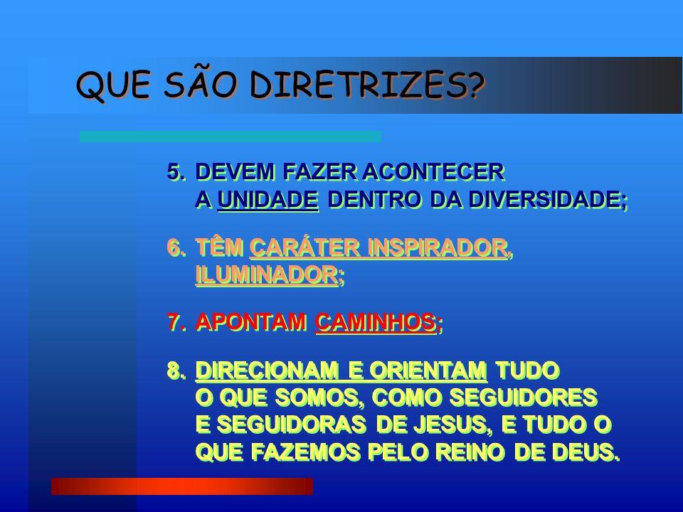 2.O PROJETO DE ATIVIDADES, ELABORADO PARA CADA ANO DIFERENÇA ENTRE DIRETRIZES E OUTROS DOCUMENTOS DE NOSSA ARQUIDIOCESE 1.AS ORIENTAÇÕES PASTORAIS DA ARQUIDIOCESE (1996) CONTINUAM EM VIGOR; TÊM CARÁTER NORMATIVO, JURÍDICO, CANÔNICO; DIZEM RESPEITO AOS PROCEDIMENTOS PRÁTICOS.