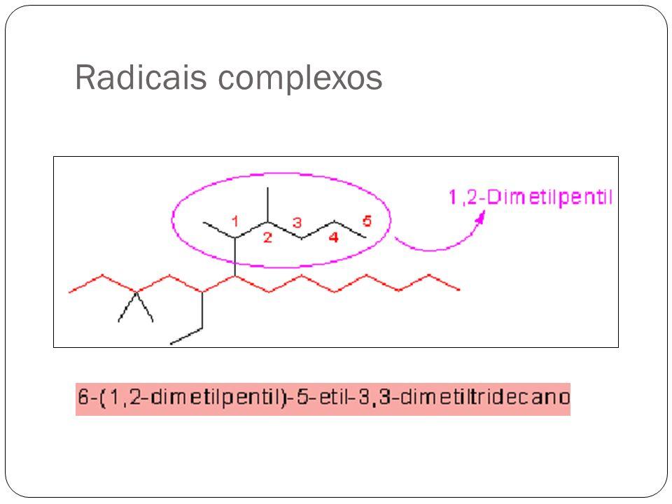 Radicais complexos