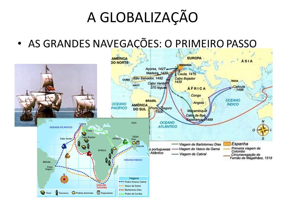 A GLOBALIZAÇÃO AS GRANDES NAVEGAÇÕES: O PRIMEIRO PASSO