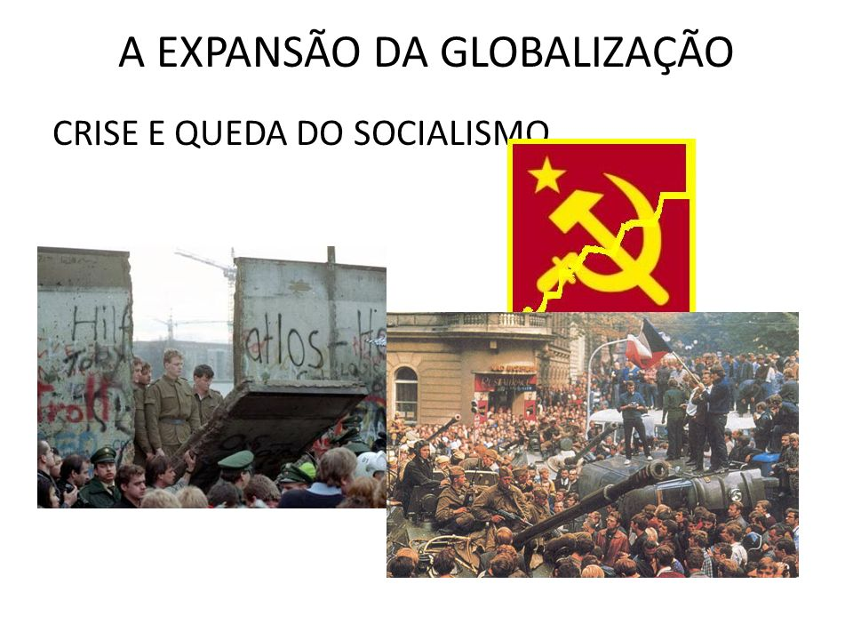 A EXPANSÃO DA GLOBALIZAÇÃO CRISE E QUEDA DO SOCIALISMO