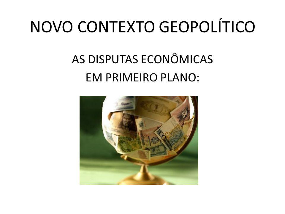 NOVO CONTEXTO GEOPOLÍTICO PODER DAS GRANDES CORPORAÇÕES TRANSNACIONAIS: