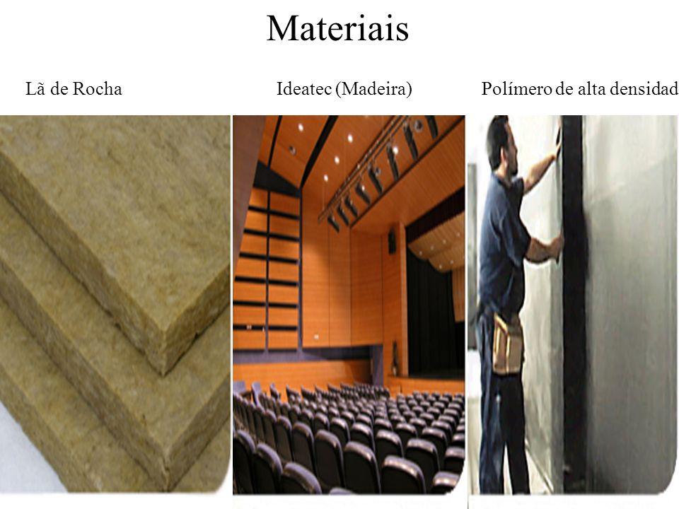 Lã de Rocha Ideatec (Madeira) Polímero de alta densidade Materiais