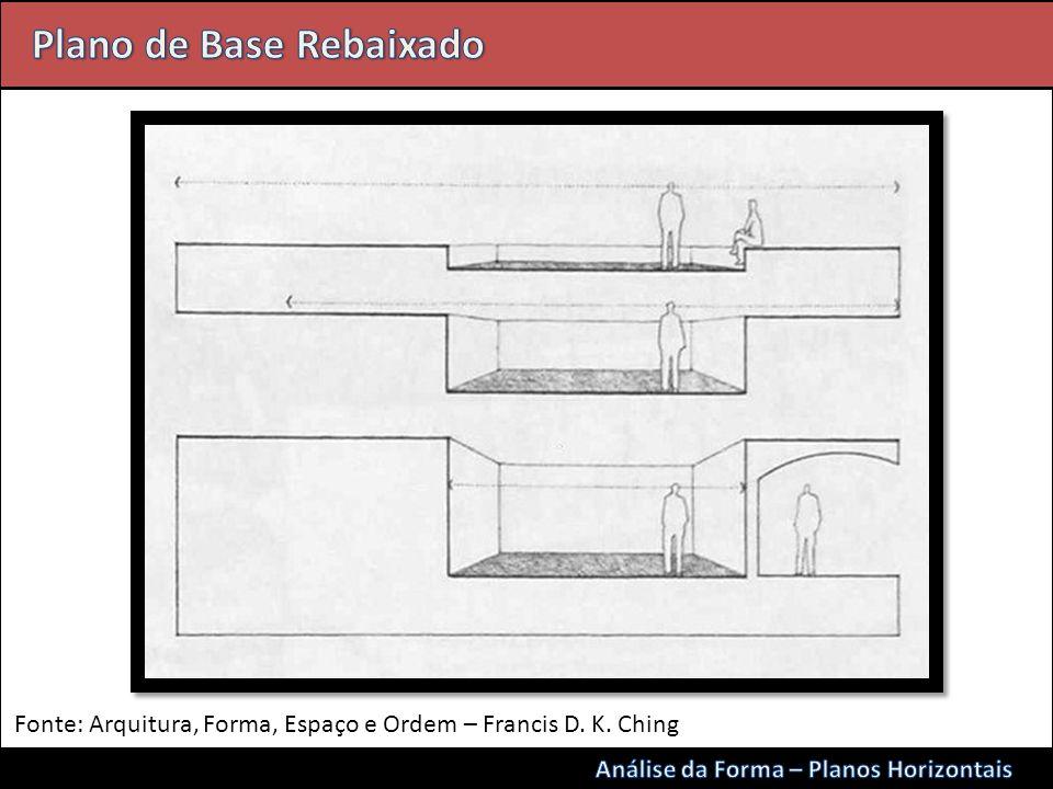 Fonte: Arquitura, Forma, Espaço e Ordem – Francis D. K. Ching
