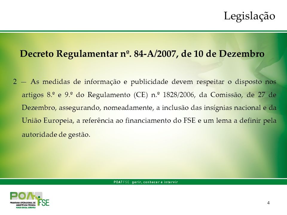 5 Decreto Regulamentar nº.