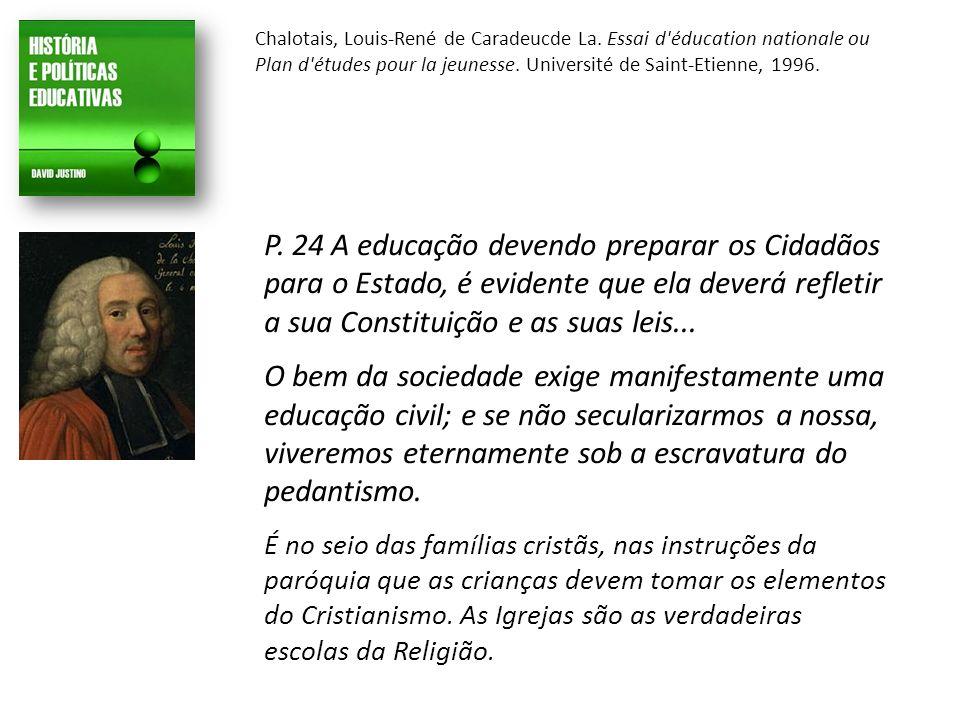 Chalotais, Louis-René de Caradeucde La.